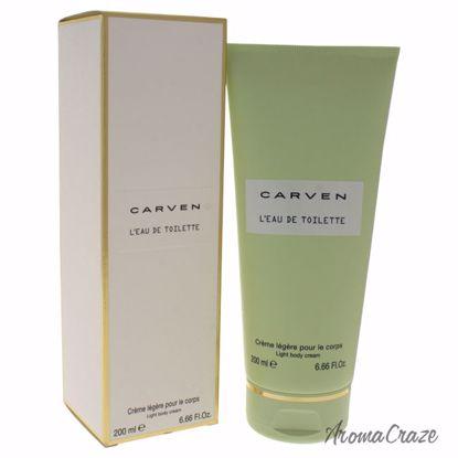 Carven L'eau De TOilette Light Body Cream for Women 6.66 oz