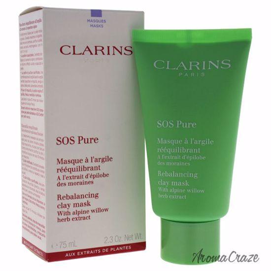 Clarins SOS Pure Rebalancing Clay Mask for Women 2.3 oz