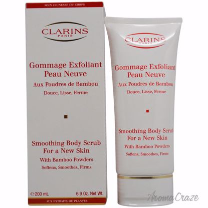 Clarins Exfoliating Body Scrub For Smooth Skin with Bamboo P