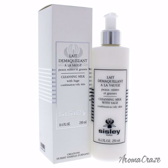 Sisley Cleansing Milk with Sage Combination Oily Skin for Wo