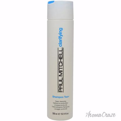 Paul Mitchell Shampoo Two Unisex 10.14 oz - Hair Shampoo | Best Shampoo For Hair Growth | Shampoo and Conditioner For Damage Hair | Fizzy Hair Shampoo | Best Professional Shampoo | Top Brands Hair Care Products | AromaCraze.com