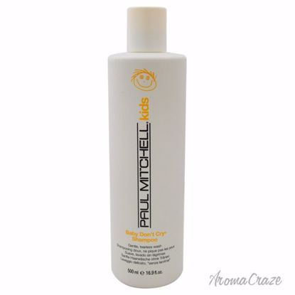 Paul Mitchell Baby Don't Cry Shampoo Unisex 16.9 oz - Hair Shampoo | Best Shampoo For Hair Growth | Shampoo and Conditioner For Damage Hair | Fizzy Hair Shampoo | Best Professional Shampoo | Top Brands Hair Care Products | AromaCraze.com