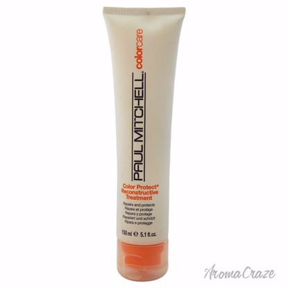 Paul Mitchell Color Protect Reconstructive Treatment Unisex 5.1 oz - Hair Treatment Products | Best Hair Styling Product | Hair Oil Treatment | Damage Hair Treatment | Hair Care Products | Hair Spray | Hair Volumizing Product | AromaCraze.com