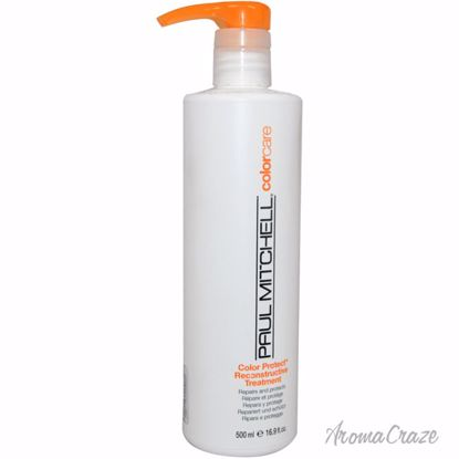 Paul Mitchell Color Protect Reconstructive Treatment Unisex 16.9 oz - Hair Treatment Products | Best Hair Styling Product | Hair Oil Treatment | Damage Hair Treatment | Hair Care Products | Hair Spray | Hair Volumizing Product | AromaCraze.com