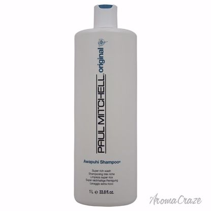 Paul Mitchell Awapuhi Shampoo Unisex 33.8 oz - Hair Shampoo | Best Shampoo For Hair Growth | Shampoo and Conditioner For Damage Hair | Fizzy Hair Shampoo | Best Professional Shampoo | Top Brands Hair Care Products | AromaCraze.com