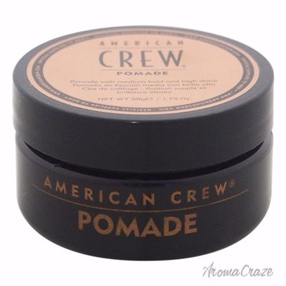 American Crew Pomade for Hold & Shine Pomade for Men 1.75 oz - Hair Styling Products | Hair Styling Cream | Hair Spray | Hair Styling Products For Men | Hair Styling Products For Women | Hair Care Products | AromaCraze.com