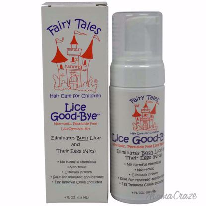 Fairy Tales Lice Goodbye Nit Removal Kit with Comb Mousse fo