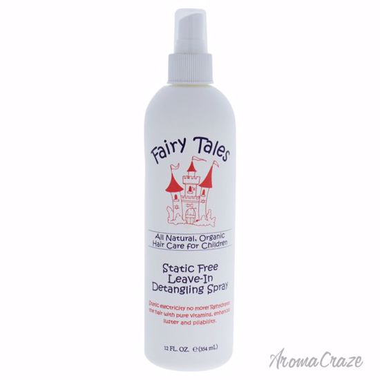 Fairy Tales Static-Free Detangling Spray for Kids 12 oz