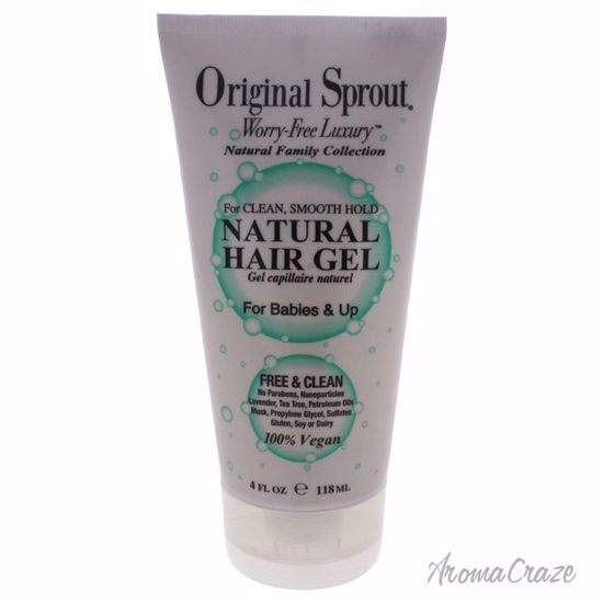 Original Sprout Natural Hair Gel for Kids 4 oz