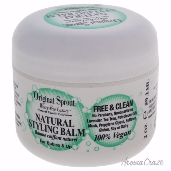 Original Sprout Natural Styling Balm for Kids 2 oz
