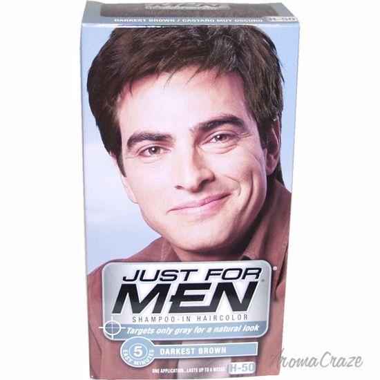 Just For Men Shampoo-In Hair Color Darkest Brown # H-50 Hair
