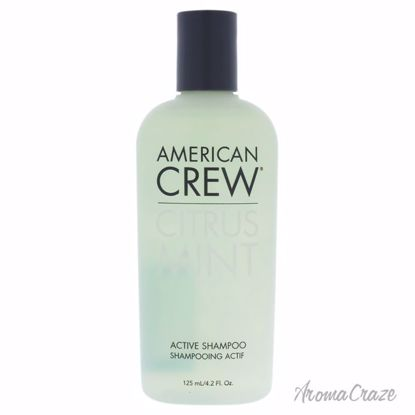 American Crew Citrus Mint Active Shampoo for Men 4.2 oz - Hair Shampoo | Best Shampoo For Hair Growth | Shampoo and Conditioner For Damage Hair | Fizzy Hair Shampoo | Best Professional Shampoo | Top Brands Hair Care Products | AromaCraze.com