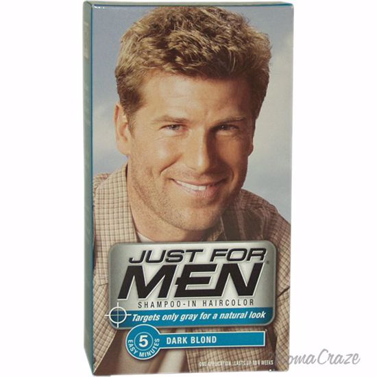 Just For Men Shampoo-In Hair Color Dark Blond # 15 Hair Color for Men 1  Application