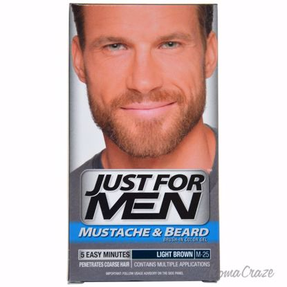 Just For Men Brush-In Color Gel Mustache-Beard & Sideburns L
