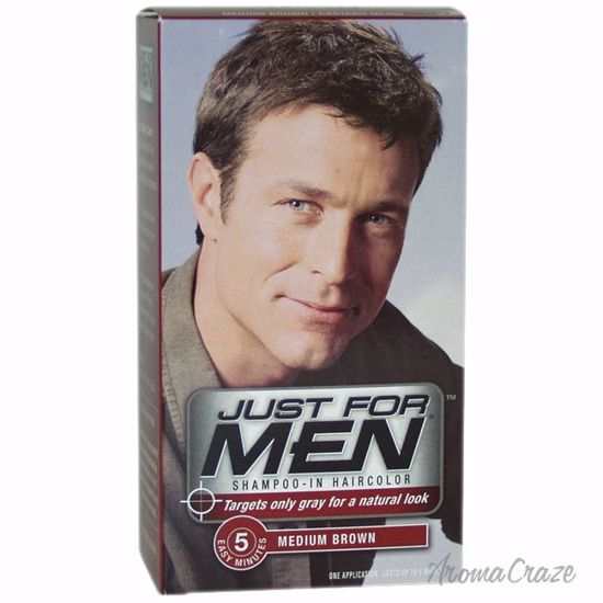 Just For Men Shampoo-In Hair Color Medium Brown # 35 Hair Co