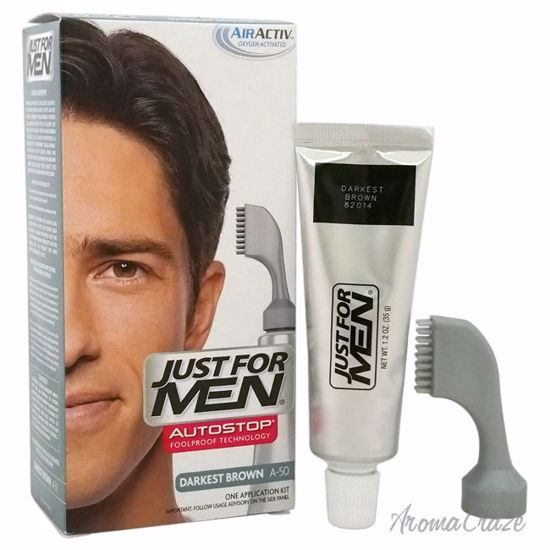Just For Men Auto Stop Hair Color Darkest Brown A-50 Hair Co