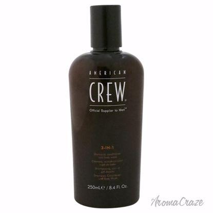 American Crew 3 In 1 Shampoo & Conditioner & Body Wash for M