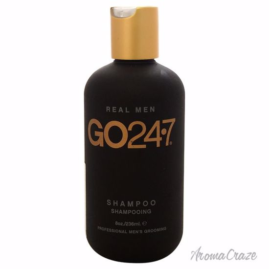 GO247 Real Men Shampoo for Men 8 oz