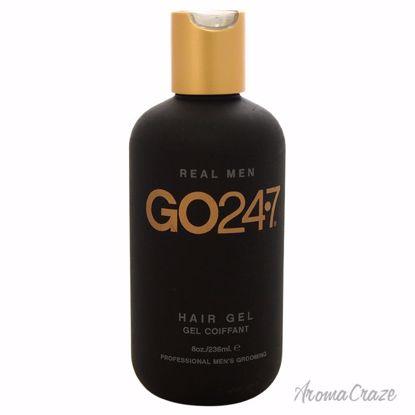GO247 Real Men Hair Gel for Men 8 oz