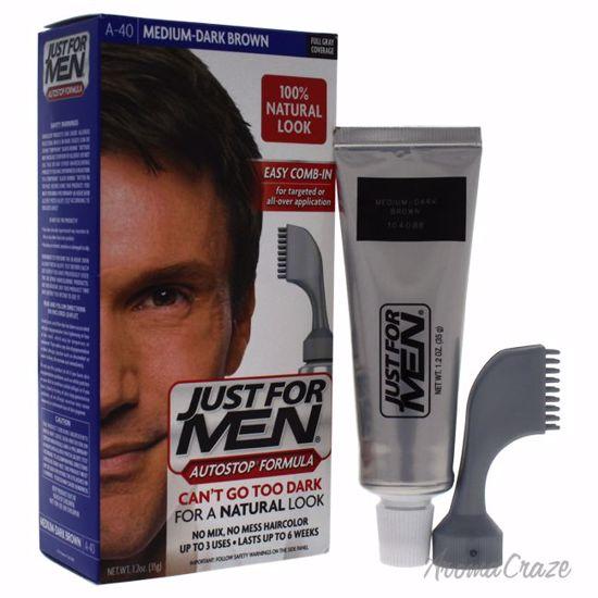 Just For Men Auto Stop Hair Color Medium-Dark Brown # A-40 H