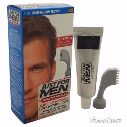 Just For Men Auto Stop Hair Color Light-Medium Brown # A-30