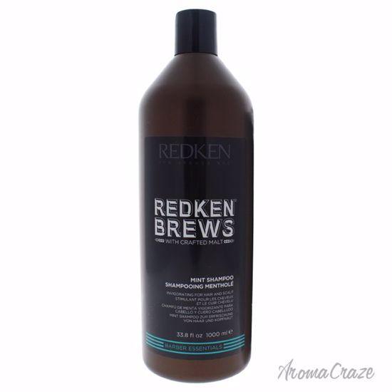 Redken Brews Mint Shampoo for Men 33.8 oz