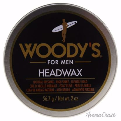 Woody's Headwax Natural Beeswax Pomade for Men 2 oz