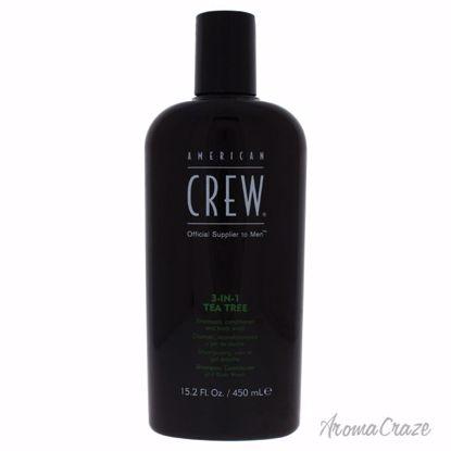 American Crew 3-In-1 Tea Tree Shampoo & Conditioner & Body W