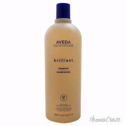 Aveda Brilliant Shampoo Unisex 33.8 oz - Hair Shampoo | Best Shampoo For Hair Growth | Shampoo and Conditioner For Damage Hair | Fizzy Hair Shampoo | Best Professional Shampoo | Top Brands Hair Care Products | AromaCraze.com