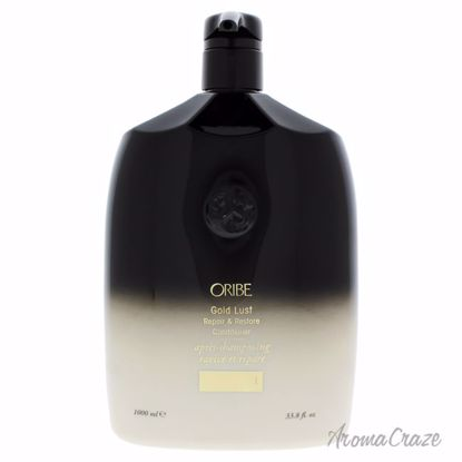 Oribe Gold Lust Repair & Restore Unisex 33.8 oz - Hair Conditioner | Best Hair Conditioners | hair conditioner for dry hair | hair conditioner for womens | Moisturizing Hair Conditioner | Hair Care Products | AromaCraze.com
