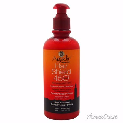 Agadir Argan Oil Hair Shield 450 Intense Creme Treatment Unisex 10 oz - Hair Treatment Products | Best Hair Styling Product | Hair Oil Treatment | Damage Hair Treatment | Hair Care Products | Hair Spray | Hair Volumizing Product | AromaCraze.com