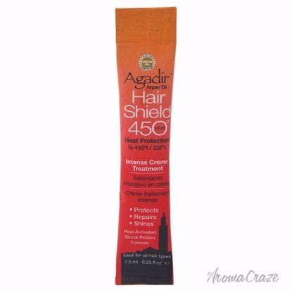 Agadir Argan Oil Hair Shield 450 Intense Creme Treatment Unisex 0.25 oz - Hair Treatment Products | Best Hair Styling Product | Hair Oil Treatment | Damage Hair Treatment | Hair Care Products | Hair Spray | Hair Volumizing Product | AromaCraze.com