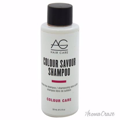 AG Hair Cosmetics Colour Savour Sulfate-Free Shampoo Unisex 2 oz - Hair Shampoo | Best Shampoo For Hair Growth | Shampoo and Conditioner For Damage Hair | Fizzy Hair Shampoo | Best Professional Shampoo | Top Brands Hair Care Products | AromaCraze.com