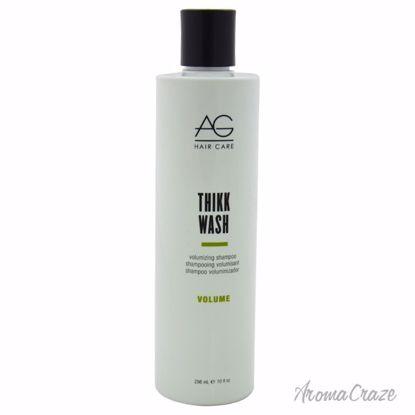 AG Hair Cosmetics Thikk Wash Volumizing Shampoo Unisex 10 oz - Hair Shampoo | Best Shampoo For Hair Growth | Shampoo and Conditioner For Damage Hair | Fizzy Hair Shampoo | Best Professional Shampoo | Top Brands Hair Care Products | AromaCraze.com