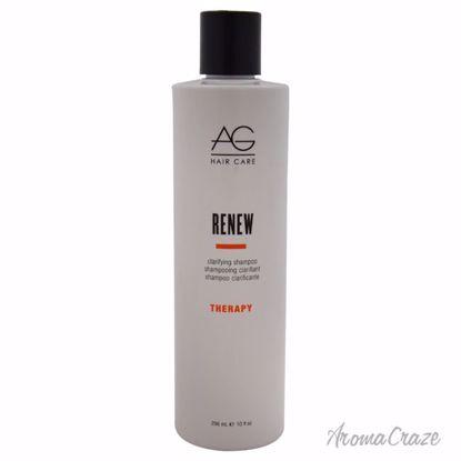 AG Hair Cosmetics Renew Clarifying Shampoo Unisex 10 oz - Hair Shampoo | Best Shampoo For Hair Growth | Shampoo and Conditioner For Damage Hair | Fizzy Hair Shampoo | Best Professional Shampoo | Top Brands Hair Care Products | AromaCraze.com