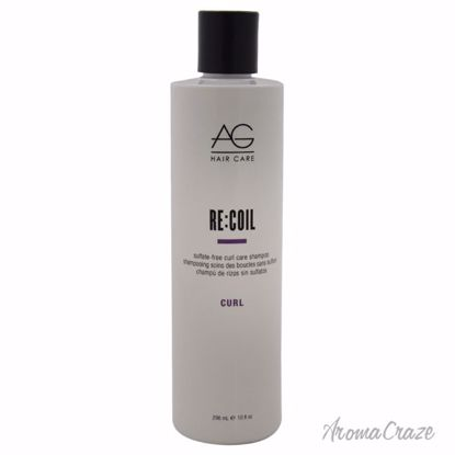 AG Hair Cosmetics RecOil Sulfate-Free Curl Care Shampoo Unisex 10 oz - Hair Shampoo | Best Shampoo For Hair Growth | Shampoo and Conditioner For Damage Hair | Fizzy Hair Shampoo | Best Professional Shampoo | Top Brands Hair Care Products | AromaCraze.com