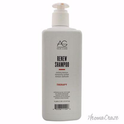 AG Hair Cosmetics Renew Shampoo Unisex 64 oz - Hair Shampoo | Best Shampoo For Hair Growth | Shampoo and Conditioner For Damage Hair | Fizzy Hair Shampoo | Best Professional Shampoo | Top Brands Hair Care Products | AromaCraze.com