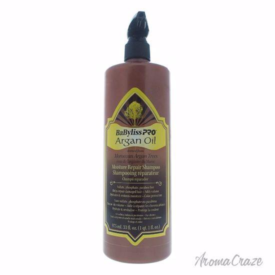 BaBylissPRO Argan Oil Moisture Repair Shampoo Unisex 33 oz