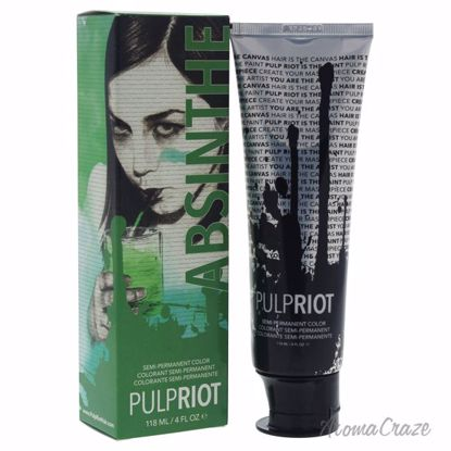 Pulp Riot Semi-Permanent Color Absinthe Green Hair Color Uni