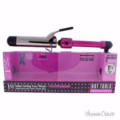 Hot Tools Pink Titanium Salon Curling Iron/Wand Model # HPK4
