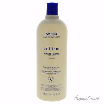 Aveda Brilliant Damage Control Treatment Unisex 33.8 oz - Hair Treatment Products | Best Hair Styling Product | Hair Oil Treatment | Damage Hair Treatment | Hair Care Products | Hair Spray | Hair Volumizing Product | AromaCraze.com