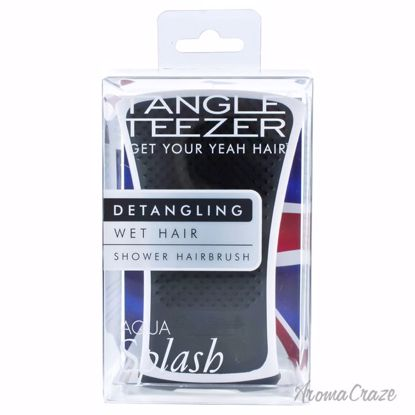 Tangle Teezer Aqua Splash Detangling Shower Brush Black Pear