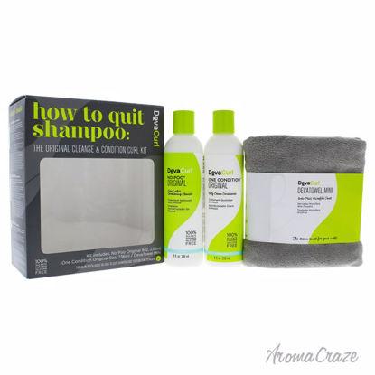 Deva Curl How To Quit Shampoo Kit 8oz No-Poo Original Zero-L
