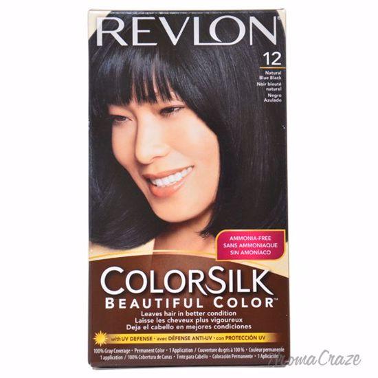Revlon Colorsilk Beautiful Color 12 Natural Blue Black Hair Color