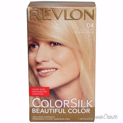 01182a9b127 Revlon colorsilk Beautiful Color  04 Ultra Light Nat Blnd Hair Color Unisex  1 Application