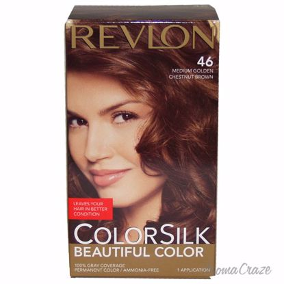 Revlon colorsilk Beautiful Color #46 Medium Golden Chestnut