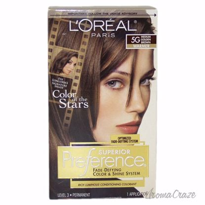L'Oreal Paris Superior Preference Fade-Defying Color # 5G Me