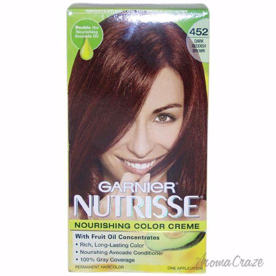 Garnier Nutrisse Nourishing Color Creme 452 Dark Reddish Brown