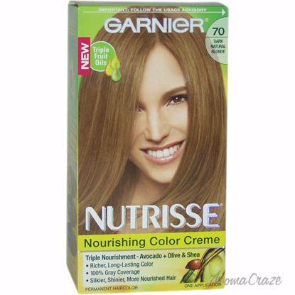 Garnier Nutrisse Nourishing Color Creme # 70 Dark Natural Bl