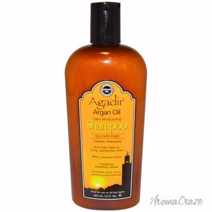 Agadir Argan Oil Daily Moisturizing Shampoo Unisex 12 oz - Hair Shampoo | Best Shampoo For Hair Growth | Shampoo and Conditioner For Damage Hair | Fizzy Hair Shampoo | Best Professional Shampoo | Top Brands Hair Care Products | AromaCraze.com